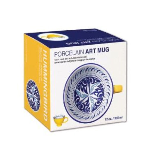 Porcelain Art Mug - Transforming Eagle