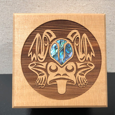 "Bentwood Box - ""Frog"""
