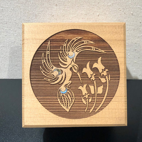 "Bentwood Box - ""Hummingbird"""