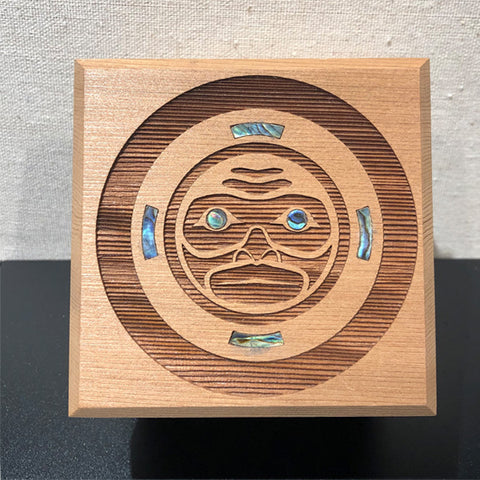 Bentwood Box - Moon Mask