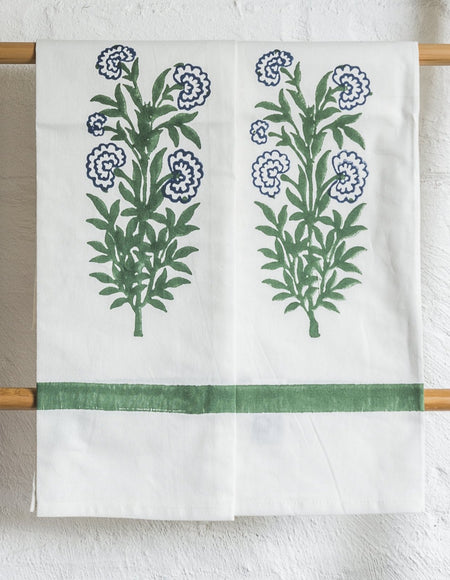 Iris Tea Towel