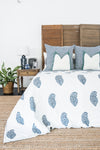 Kolka Indigo Quilted Pillow Case Set