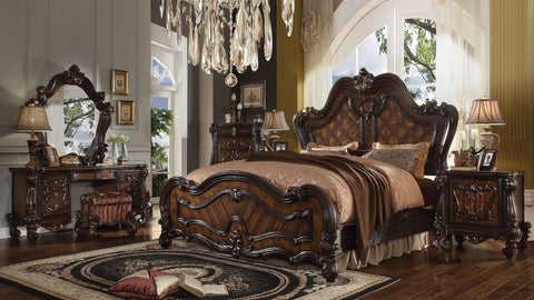 Acme Versailles Cherry Oak Bedroom Set