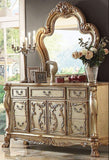 ACME Dresden Bone Gold Patina Bedroom Set - Dresser