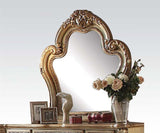 ACME Dresden Bone Gold Patina Bedroom Set - Mirror