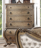 ACME Ragenardus Vintage Oak Bedroom Set - Chest