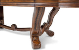 AICO Tuscano Melange Formal Dining Table - Leg Detail