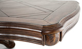 AICO Tuscano Melange Formal Dining Table - Detail