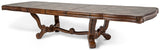 AICO Tuscano Melange Formal Dining Table - Extended