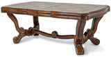AICO Tuscano Melange Formal Dining Table