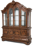 AICO Tuscano Melange Formal Dining Room Set - China Cabinet