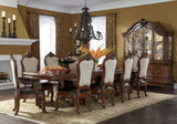 AICO Tuscano Melange Formal Dining Room Set