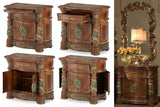 AICO Villa Valencia Poster Bedroom Set - Night Stand