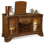 A.R.T Furniture Old World Estate Dining Room Set - Wine & Cheese Buffet