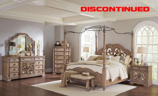 THE CANOPY BEDROOM SET HAS BEEN DISCONTINUED
