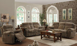 COASTER Furniture Reclining Sofa and Loveseat