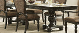 HOMELEGANCE Russian Hill Double Pedestal Dining Room Set