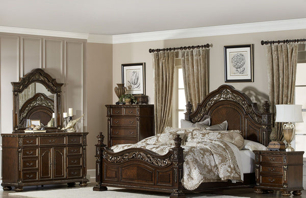 HOMELEGANCE Catalonia Panel Bedroom Set