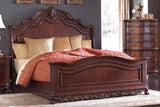DERYN PARK PANEL BED BY HOMELEGANCE