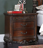 HOMELEGANCE Deryn Park Poster Bedroom Set - Night Stand