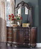 HOMELEGANCE Deryn Park Poster Bedroom Set  - Dresser and Mirror