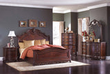 DERYN PARK PANEL BEDROOM SET BY HOMELEGANCE