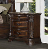 HOMELEGANCE Antoinetta Upholstered Bedroom Set - Nightstand