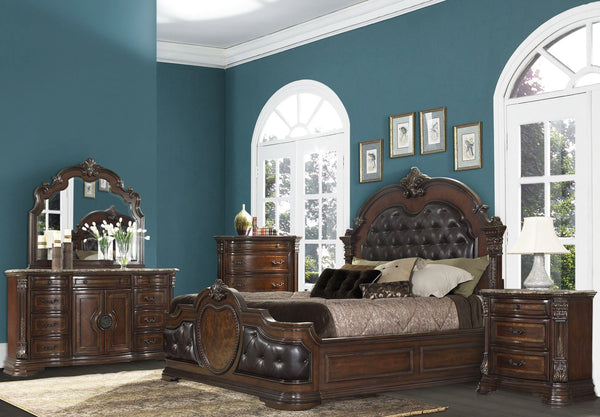 HOMELEGANCE Antoinetta Upholstered Bedroom Set