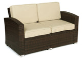 Outdoor Wicker Conversation Set - Loveseat