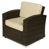 Outdoor Wicker Conversation Set - Chair