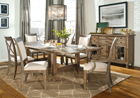 "Legacy Classic Rachael Ray Home ""Brownstone Collection"" Upholstered Casual Dining Set"