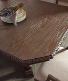 LEGACY CLASSIC Hunt Country Casual Dining Set - Table Detail