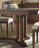 LEGACY CLASSIC Hunt Country Casual Dining Set - Trestle Detail