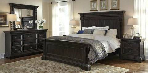 PULASKI Caldwell Panel Bedroom Set