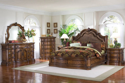 PULASKI SAN MATEO PLATFORM BEDROOM SET