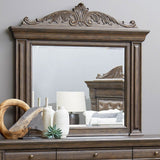PULASKI Bedford Heights Beveled Dresser Mirror