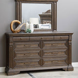 PULASKI Bedford Heights Dresser and Mirror