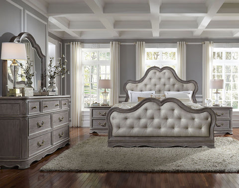 PULASKI Simply Charming Upholstered Bedroom Set