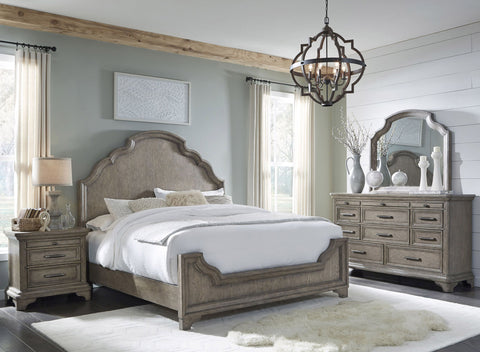 PULASKI Bristol Elm Panel Bedroom Set