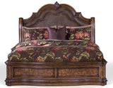 PULASKI SAN MATEO PLATFORM BEDROOM SET - BED