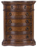 PULASKI SAN MATEO BEDROOM SET - 5-DRAWER CHEST