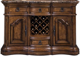 PULASKI San Mateo Double Pedestal Dining Room Set - Sideboard