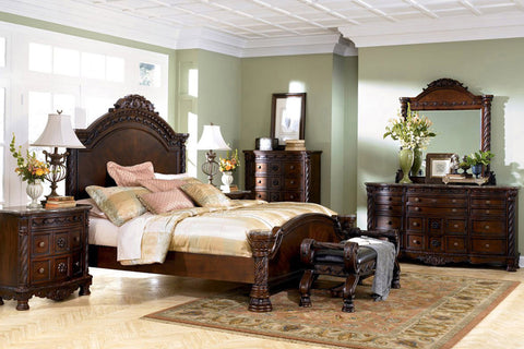 ASHLEY NORTH SHORE PANEL BEDROOM SET