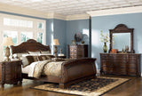 ASHLEY NORTH SHORE SLEIGH BEDROOM SET