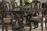 SAN MARINO DOUBLE PEDESTAL DINING ROOM SET