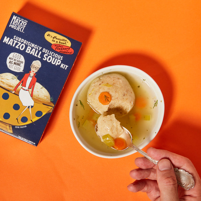 Matzo Crumbs & Matzo Ball Soup Kit