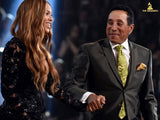 Smokey Robinson & Beyonce at the Grammys