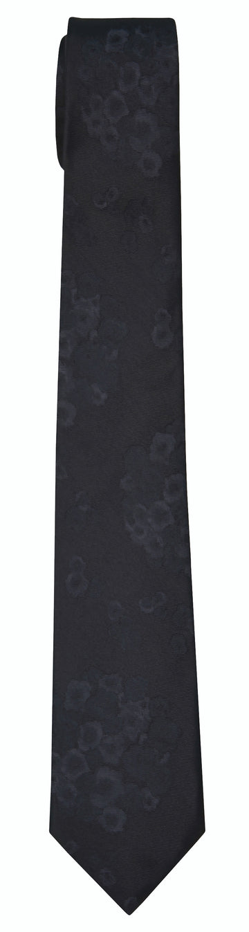 Mimi Fong Lantana Tie in Black