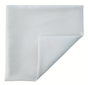 Mimi Fong Pocket Square in White