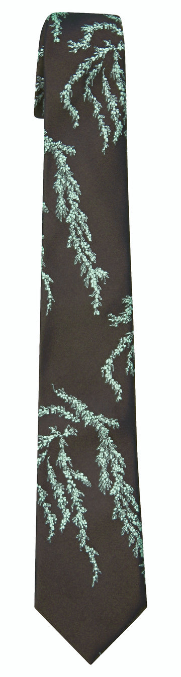 Mimi Fong Seaweed Tie in Chocolate